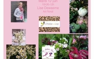 soins de support atelier floral