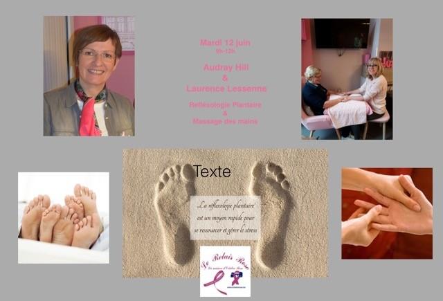 soins de support reflexologie plantaire et massage des mains