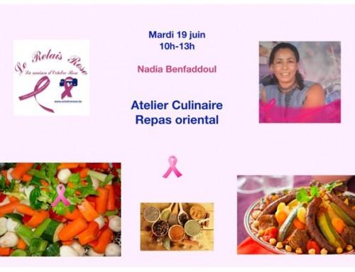 Atelier culinaire – Repas oriental