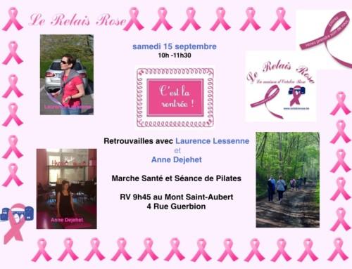 Marche Santé et séance de Pilates