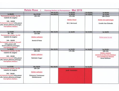 Ateliers – Mai 2019
